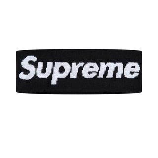 シュプリーム(Supreme)のSupreme New Era ヘアバンド 黒(バンダナ/スカーフ)