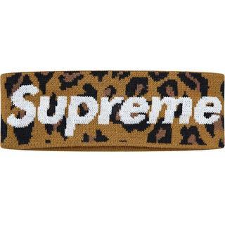 シュプリーム(Supreme)のSupreme New Era Big Logo Headband Leopar(ハット)
