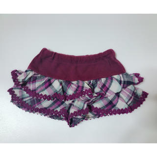アナスイミニ(ANNA SUI mini)のアナスイミニ キュロット 80 anna sui mini(スカート)