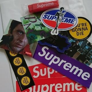 シュプリーム(Supreme)のSupremeシュプリーム ステッカー9枚+歯ブラシ1本(ノベルティグッズ)