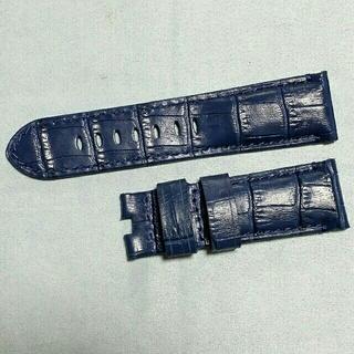 Dバックル専用!クロコ型押し高級本革ベルト(レザーベルト)