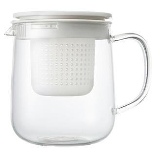 ムジルシリョウヒン(MUJI (無印良品))の※renefoxey3様専用です 無印良品 耐熱ガラス ポット 大(1L) (容器)