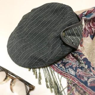 カシラ(CA4LA)のCA4LA ハンチング帽 ユニセックス キャスケット カシラ ハット 帽子(ハンチング/ベレー帽)