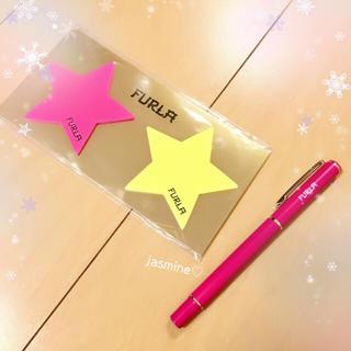 フルラ(Furla)のフルラ✧*。可愛い*星型付箋&ボールペン♡レディー スナイデル(その他)