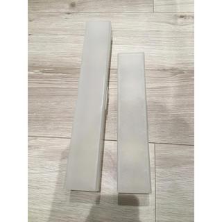 ムジルシリョウヒン(MUJI (無印良品))の無印良品 ラップケース大小(収納/キッチン雑貨)