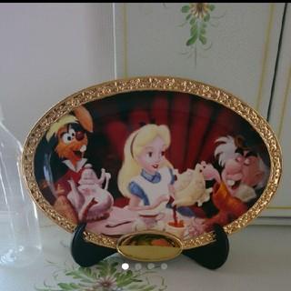 ディズニー(Disney)のディズニー アリスの飾り皿(置物)