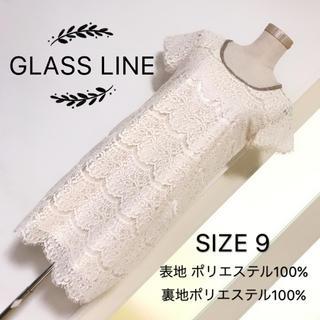 グラスライン(Glass Line)のGLASS LINE レース ワンピース(ひざ丈ワンピース)