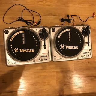 オーディオテクニカ(audio-technica)のvestax pdx-2000 ターンテーブル ベスタックス 廃盤 2台セット(ターンテーブル)