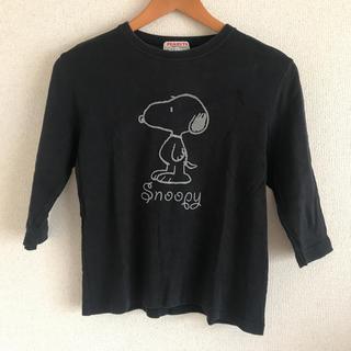 スヌーピー(SNOOPY)のスヌーピーの七分袖Tシャツ(Tシャツ(長袖/七分))