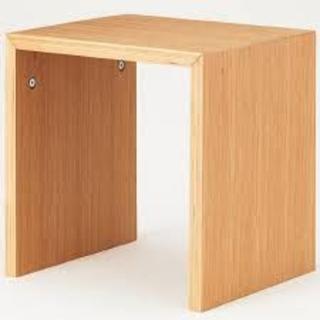 ムジルシリョウヒン(MUJI (無印良品))の無印良品 コの字の家具・積層合板・オーク材(ローテーブル)