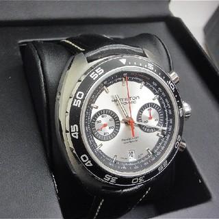ハミルトン(Hamilton)のハミルトン パンユーロ 自動巻き シルバー H35756755(腕時計(アナログ))