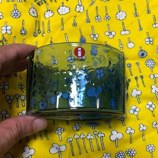 イッタラ(iittala)のIttala Flora 80mm 布付き ウルトラマリンブルー(食器)