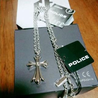 ポリス(POLICE)の新品★POLIS★クロスネックレス★ユニセックス(ネックレス)