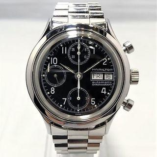 ハミルトン(Hamilton)のHAMILTON Cal.7750 クロノグラフ デイデイト(腕時計(アナログ))