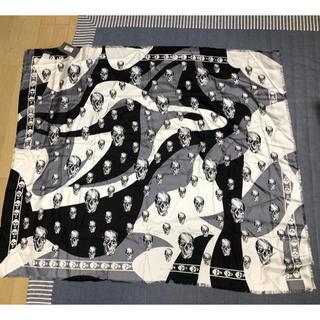 アレキサンダーマックイーン(Alexander McQueen)のAlexander MQUEEN シルクスカーフ 未使用品(バンダナ/スカーフ)