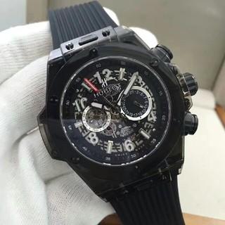 ウブロ(HUBLOT)の工イジ様専用ウブロ   45mm x 13mm 自動巻きメンズ 腕時計 (腕時計(アナログ))
