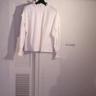 ロキエ(Lochie)のvintage…blouse(シャツ/ブラウス(長袖/七分))