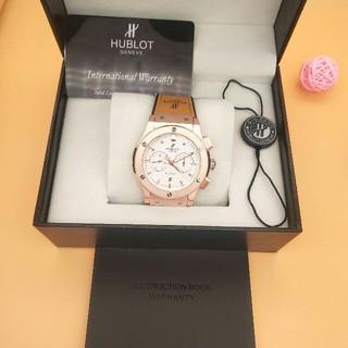 ウブロ(HUBLOT)の美品 HUBLOT 腕時計 自動巻き メンズ ブラウン  (腕時計(アナログ))