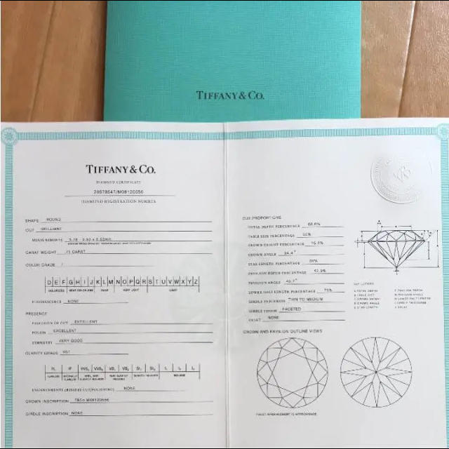 Tiffany & Co.(ティファニー)のティファニー セッティング 0.71カラット レディースのアクセサリー(リング(指輪))の商品写真