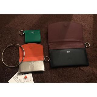 スライ(SLY)のカードケース、財布、小銭入れ(コインケース/小銭入れ)