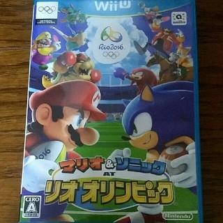 Wiiu   マリオ&ソニック リオオリンピック