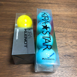 キャスコ(Kasco)の新品☆キャスコ KIRA ゴルフボール(その他)