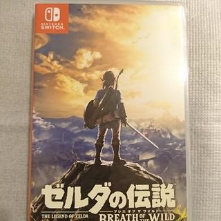 ニンテンドースイッチ(Nintendo Switch)のNintendo Switch ゼルダの伝説ブレスオブザワイルド(家庭用ゲームソフト)