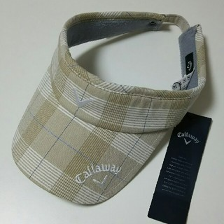 キャロウェイゴルフ(Callaway Golf)の【新品】キャロウェイ サンバイザー(ウエア)