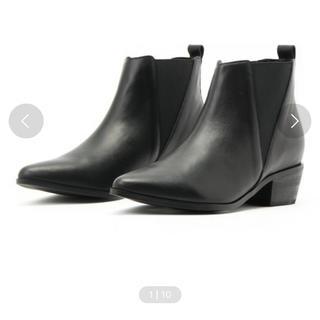 スライ(SLY)のSLY♡レザーブーツ/サイドゴアブーツ/本革(ブーツ)