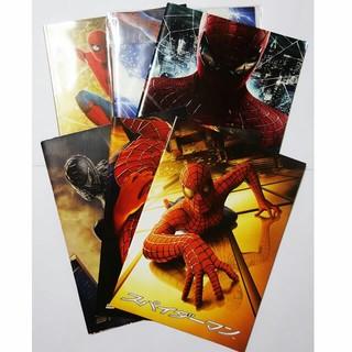 マーベル(MARVEL)の【本】映画スパイダーマンシリーズパンフレット フルコンプリートセット(アメコミ/海外作品)