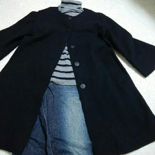 ムジルシリョウヒン(MUJI (無印良品))の無印良品 圧縮woolコート(ロングコート)