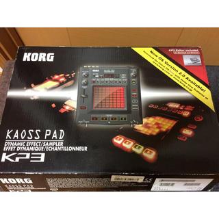 コルグ(KORG)のKORG KAOSS PAD KP3 ほぼ新品(DJエフェクター)