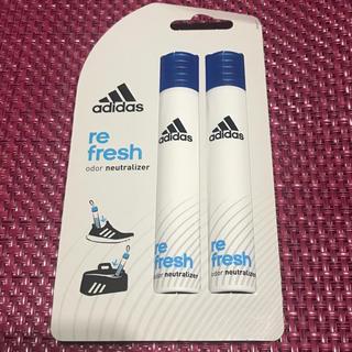 アディダス(adidas)のアディダス スティックタイプのデオドラントボトル 収納空間用芳香剤2ml×2本(その他)