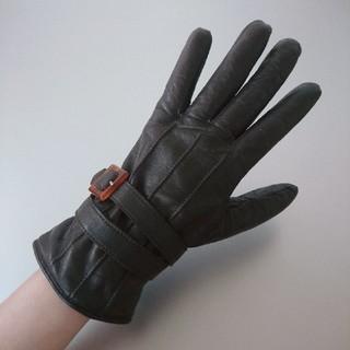アレキサンダーマックイーン(Alexander McQueen)のアレキサンダー・マックイーン  レザー  手袋(手袋)