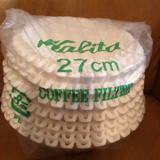 カリタ(CARITA)のカリタ コーヒーフィルター 業務用 27㎝(調理道具/製菓道具)