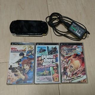 プレイステーションポータブル(PlayStation Portable)のblackさん専用(携帯用ゲーム本体)