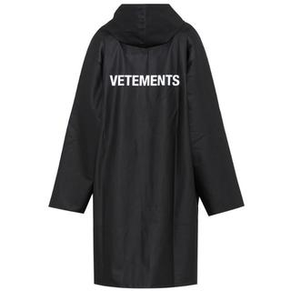 Vetements  ユニセックス ブラック コート S(ピーコート)