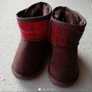 シマムラ(しまむら)の【新品】ハリスツイード ムートンブーツ(ブーツ)