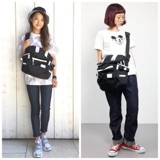 エックスガール(X-girl)の16日まで🐰X-girl×MAKAVELIC MESSENGER BAG (メッセンジャーバッグ)