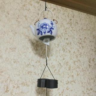 急須型 風鈴 インテリア(風鈴)
