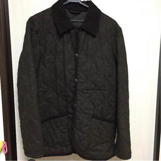 ジーユー(GU)のGU  キルトジャケット  メンズコート(その他)