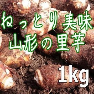 堀りたて『山形の里芋1kg』無農薬有機