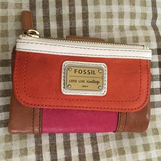 フォッシル(FOSSIL)の【デヒ様★専用】美品☆FOSSIL の革財布(折り財布)