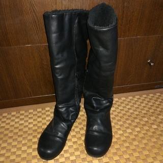 ムジルシリョウヒン(MUJI (無印良品))の無印良品 ブーツ 黒(ブーツ)