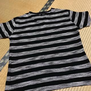 シマムラ(しまむら)のワッフルTシャツ(Tシャツ/カットソー(半袖/袖なし))