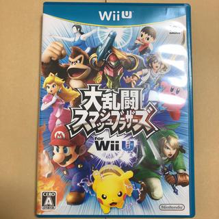 ウィーユー(Wii U)の大乱闘スマッシュブラザーズfor WiiU(家庭用ゲームソフト)