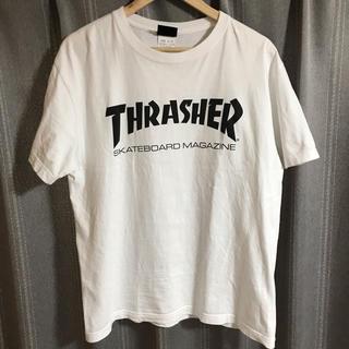 スラッシャー(THRASHER)のスラッシャー Tシャツ 白(Tシャツ/カットソー(半袖/袖なし))