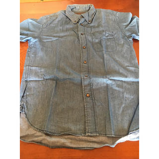 コレクトポイント(collect point)のCOLLECT POINTデニム風シャツ(Tシャツ/カットソー(半袖/袖なし))