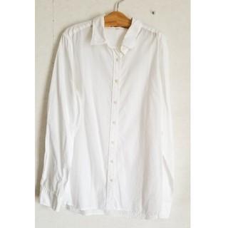 ムジルシリョウヒン(MUJI (無印良品))の無印良品 白シャツ(シャツ/ブラウス(長袖/七分))