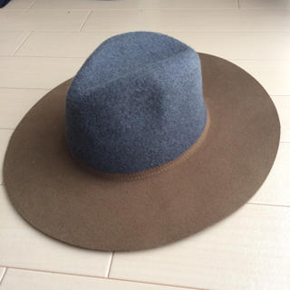 ザラ(ZARA)のフェルト ハット帽(ハット)